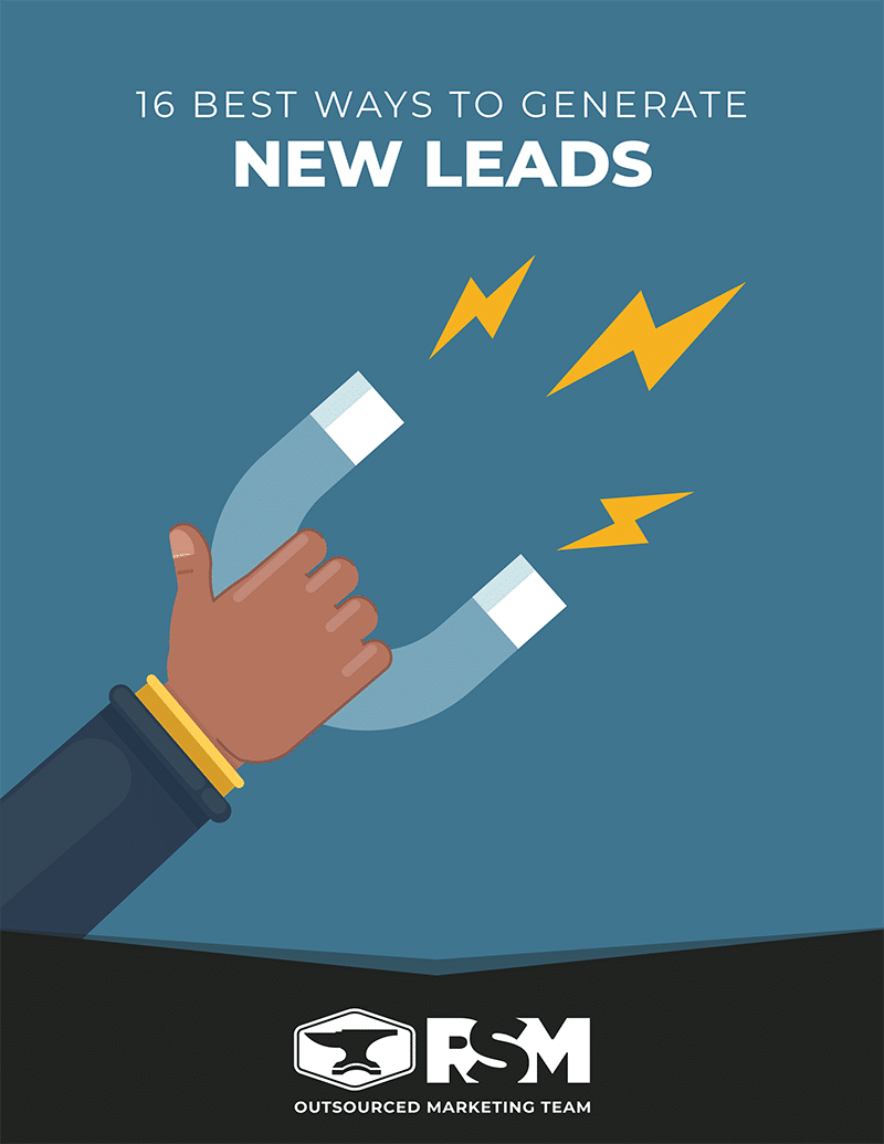 Generate new leads | marketing primers | rsm marketing