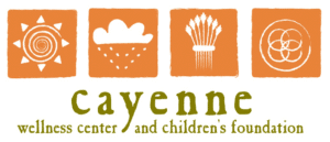 Cayenne wellness logo | support nonprofit leaders and causes benefiting the black community | rsm marketing