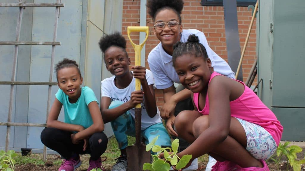 Storytime village gardening | support nonprofit leaders and causes benefiting the black community | rsm marketing