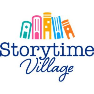 Storytime village logo | support nonprofit leaders and causes benefiting the black community | rsm marketing